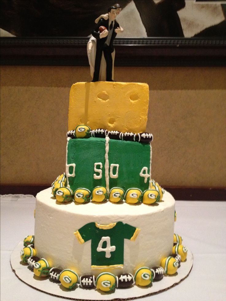 Wedding Cakes Green Bay  39 best images about My Greenbay Packers Birthday Cakes on