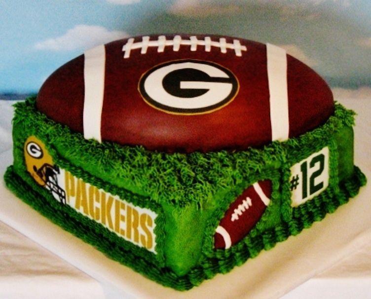 Wedding Cakes Green Bay  Green Bay Packers Wedding Cake