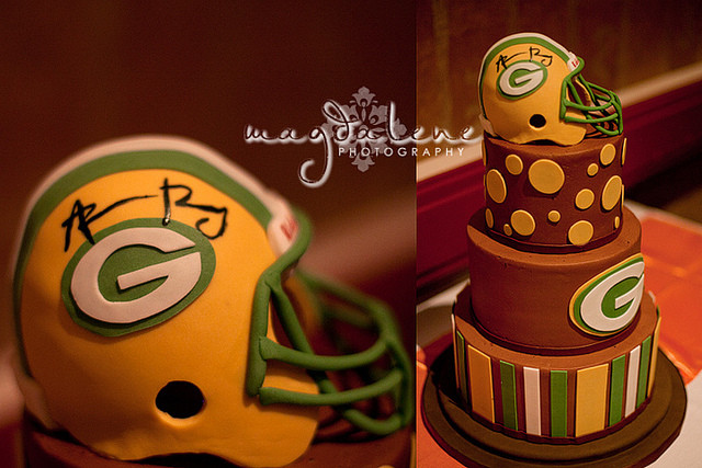 Wedding Cakes Green Bay Wi  aaron rodgers green bay packers wedding cake