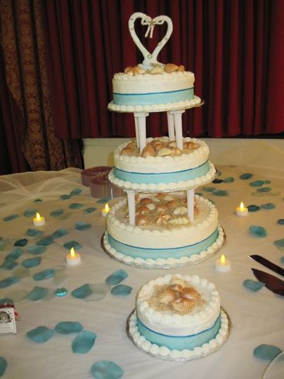 Wedding Cakes Hampton Roads  Sincerely Yours Baked Goods Wedding Cake Hampton VA