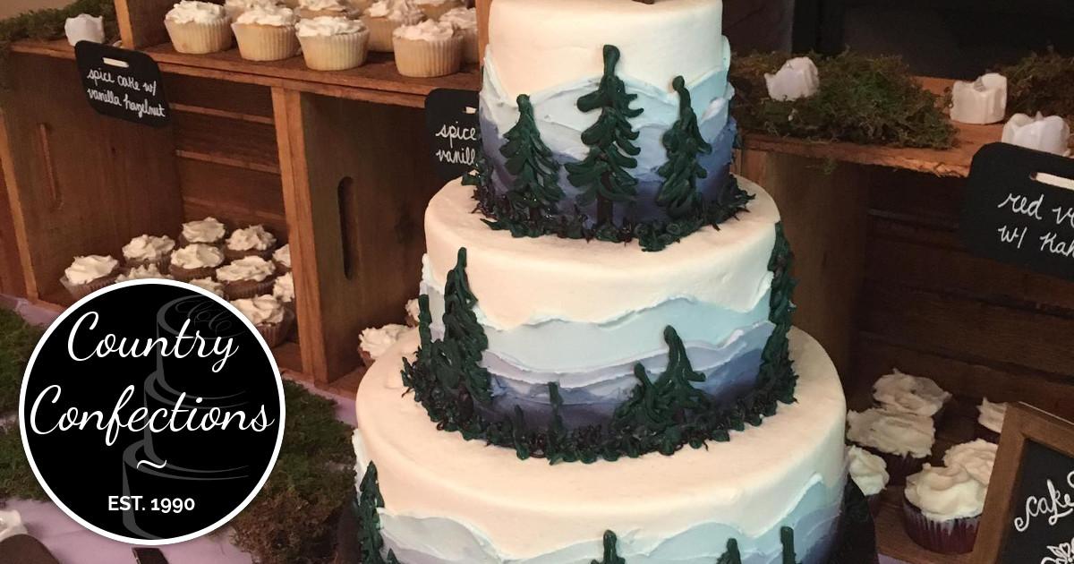 Wedding Cakes Harrisonburg Va  Country Confections