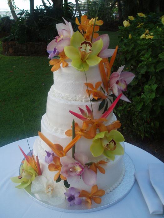 Wedding Cakes Hawaii  Maui Wedding Cake s