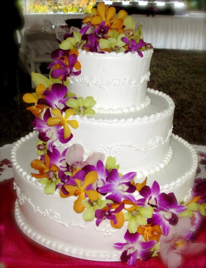 Wedding Cakes Hawaii  Hawaiian Themed Wedding