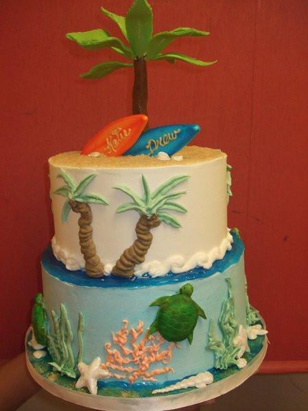 Wedding Cakes Honolulu  Katie Honolulu wedding cake