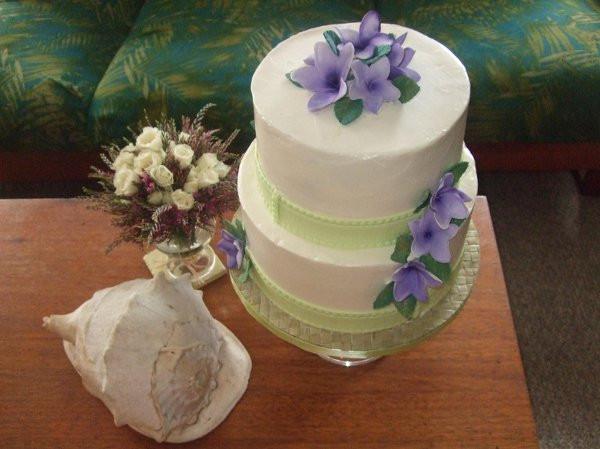 Wedding Cakes Honolulu  PurpleOrchidCake2 Honolulu wedding cake