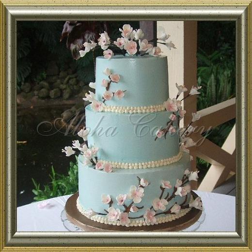 Wedding Cakes Honolulu  Plantation Honolulu wedding cake