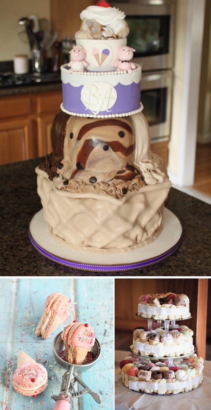 Wedding Cakes Ice Cream  Celebrity Story The Spot The Tastiest Wedding Cake