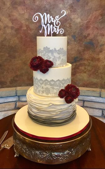 Wedding Cakes In Colorado Springs  Bella Cakes By Thena Wedding Cake Colorado Springs CO