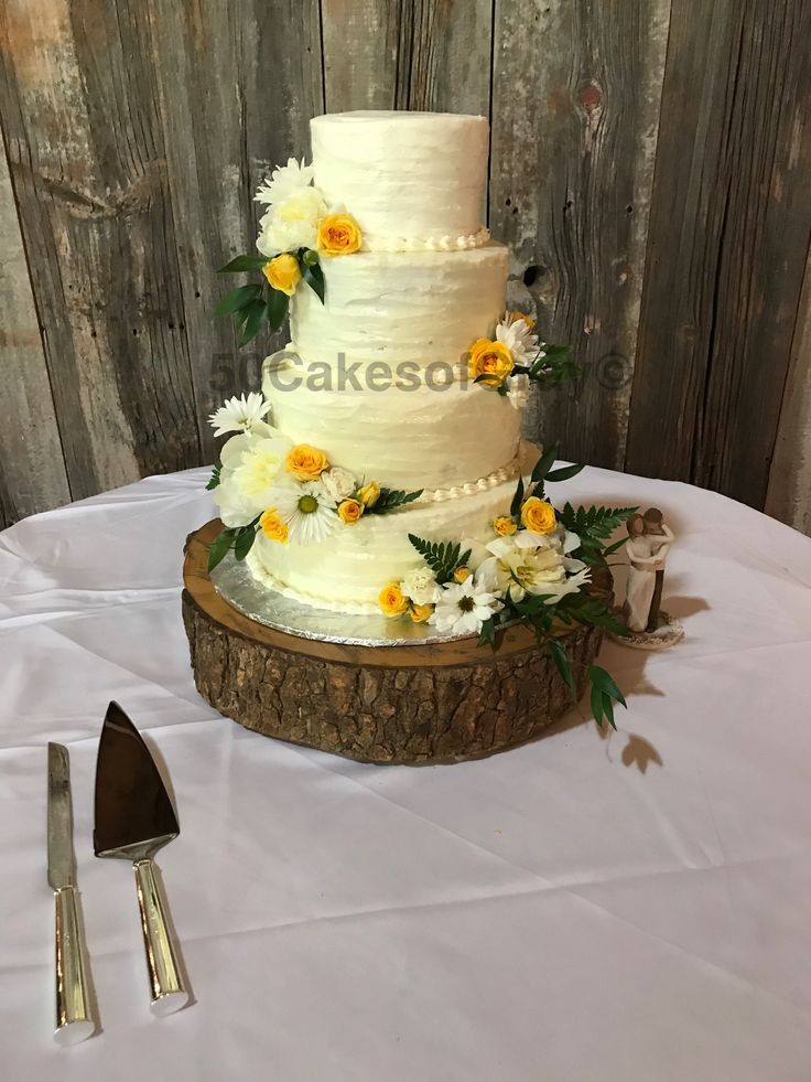 Wedding Cakes In Memphis Tn  Rustic wedding cake i made 50 Cakes of Gray Mallory Gray