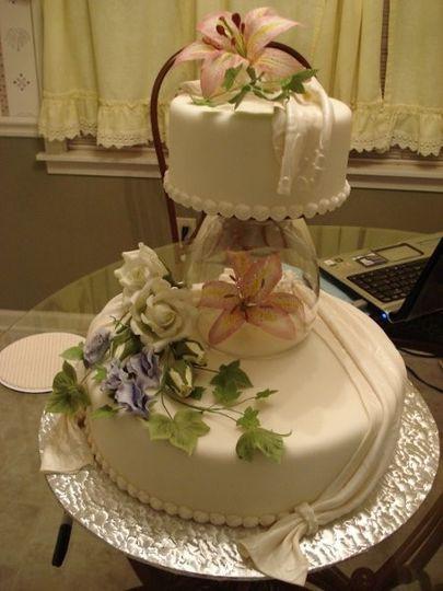 Wedding Cakes In Memphis Tn  Designs In Sugar Wedding Cake Collierville TN