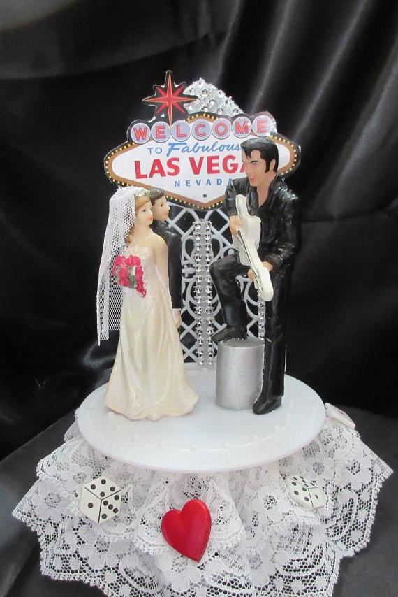 Wedding Cakes In Vegas  Las vegas wedding cake topper idea in 2017