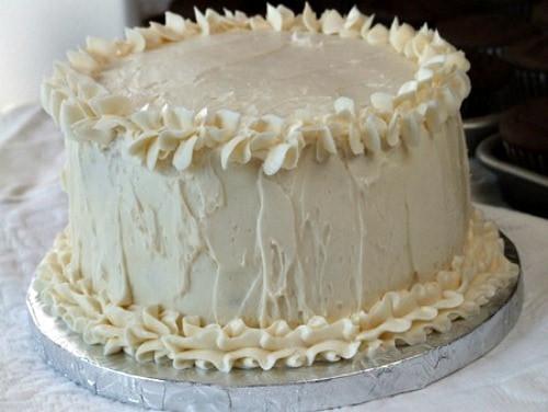 Wedding Cakes Ingredients  White Wedding Cake