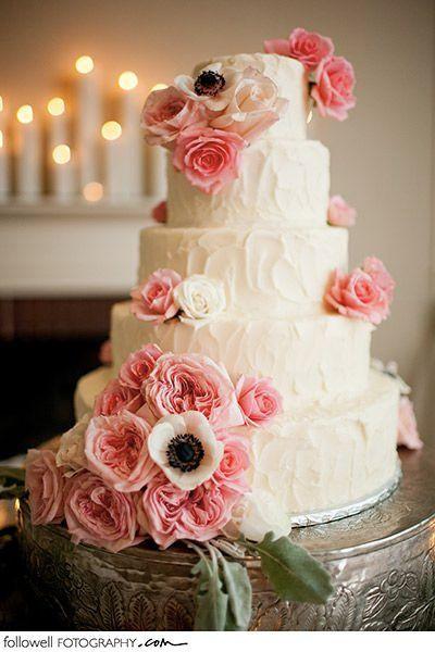 Wedding Cakes Jackson Ms  pink wedding cake oto followell fotography jackson ms