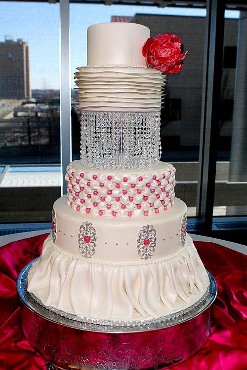 Wedding Cakes Kansas City  Baked Expressions Kansas City Wedding Cakes