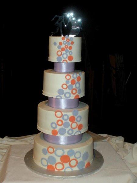 Wedding Cakes Kansas City  Circlewedding Kansas City wedding cake