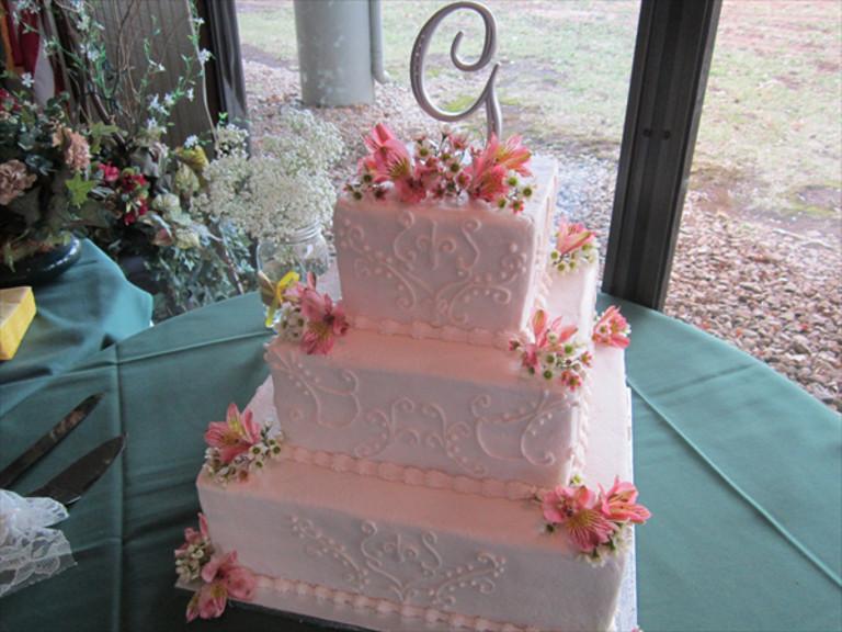 Wedding Cakes Kansas City  Missouri Weddings