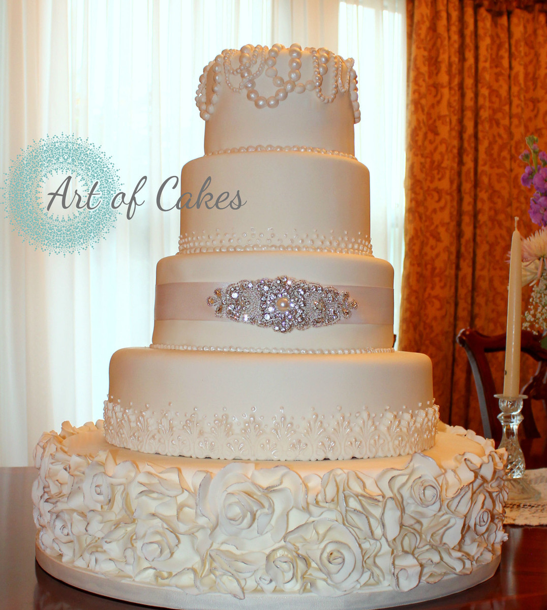 Wedding Cakes Knoxville  Art of Cakes s Wedding Cake Tennessee