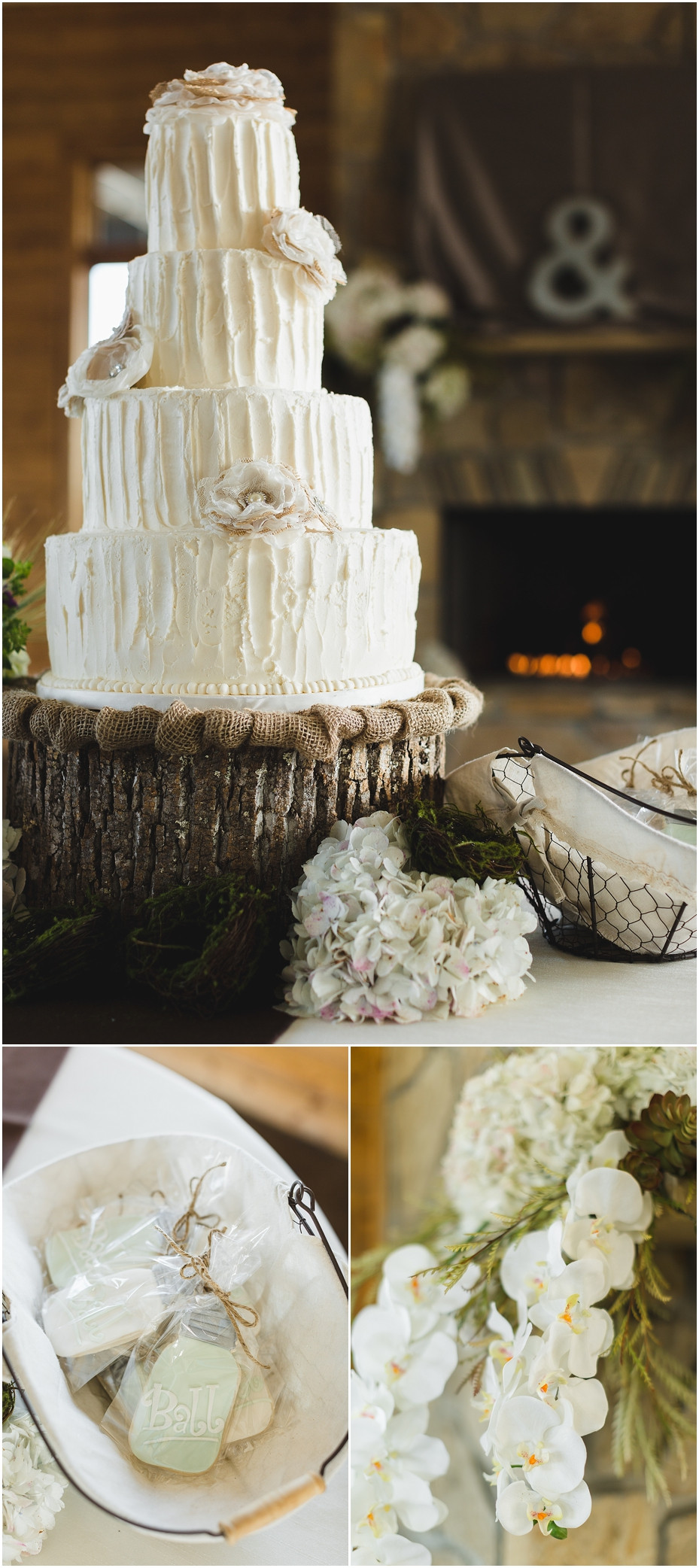 Wedding Cakes Knoxville  The Reserve at Bluebird Hill Wedding Venue Pics by Jo
