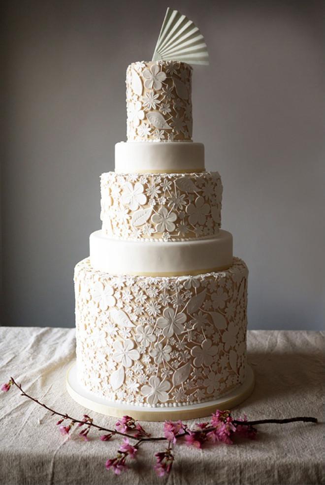 Wedding Cakes Lace  Lace Wedding Cakes Part 4 Belle The Magazine