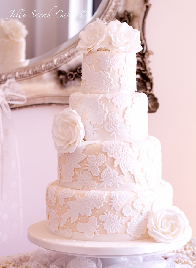 Wedding Cakes Lace  Lace Wedding Cakes Part 5 Belle The Magazine