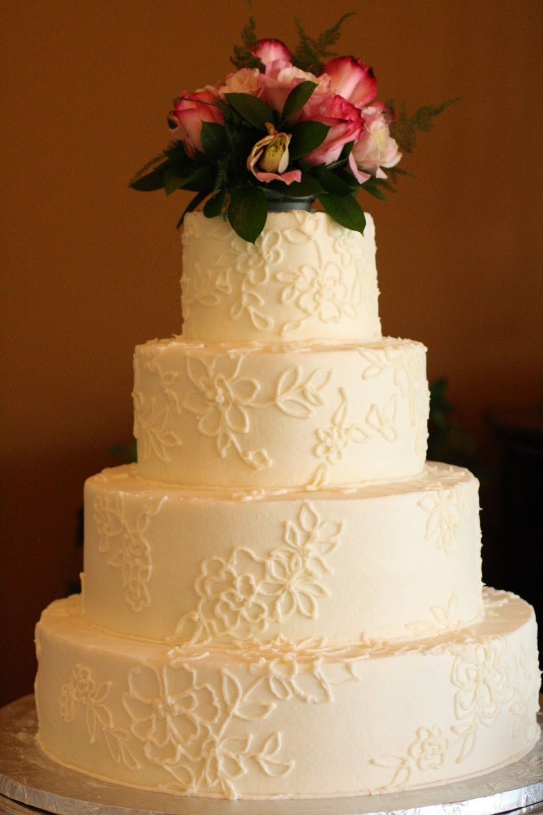 Wedding Cakes Lace  Piped Lace Wedding Cakes