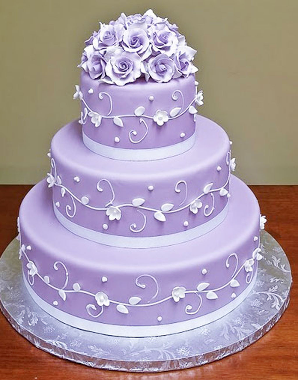 Wedding Cakes Lavender  Lavender Wedding Cakes Wedding Cake Cake Ideas by