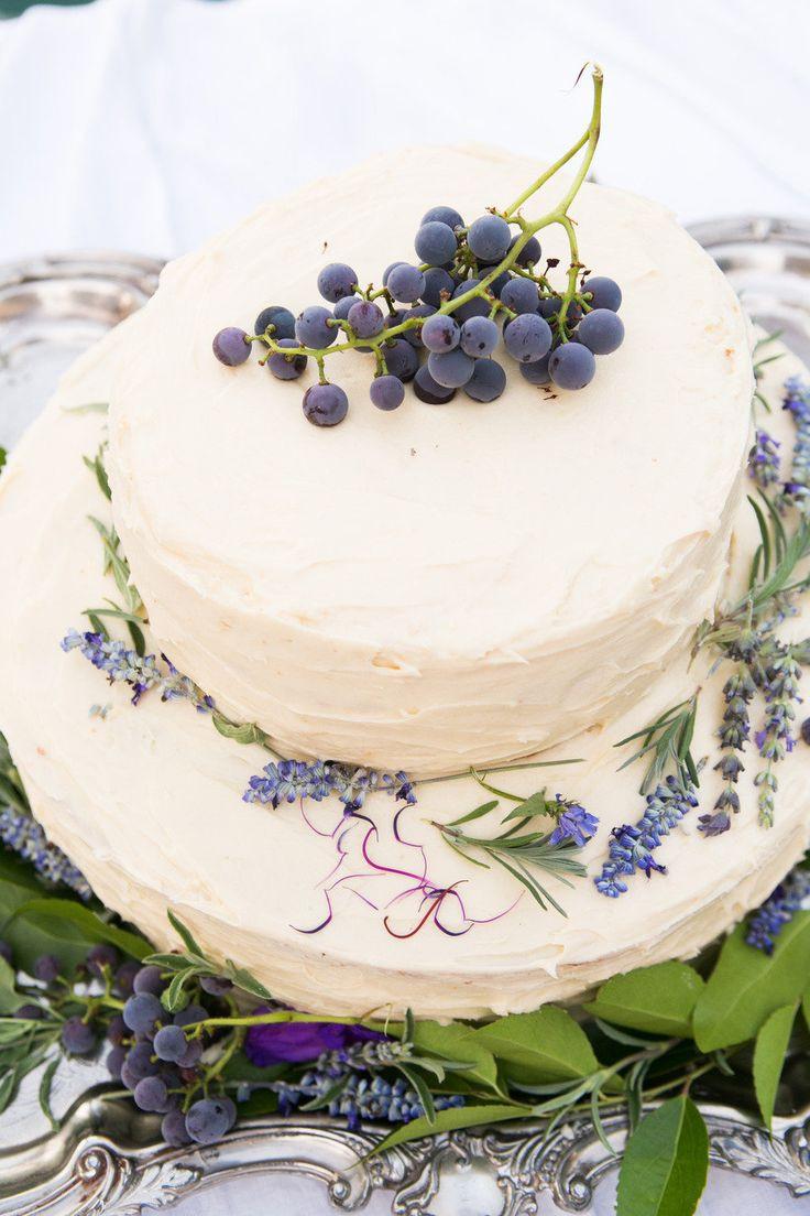 Wedding Cakes Lavender  Lavender wedding cakes Lemon lavender wedding cake
