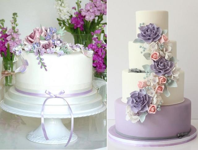 Wedding Cakes Lavender  Purple Lilac & Lavender Wedding Cakes – Cake Geek Magazine