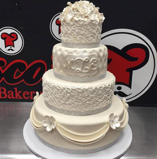 Wedding Cakes Long Island  Francesco s Bakery Long Island Island Wedding Cakes