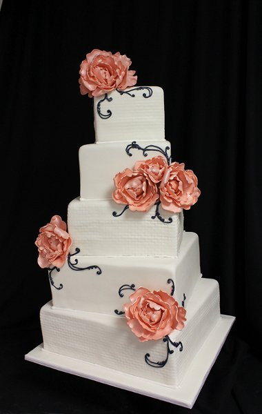 Wedding Cakes Ma  Oakleaf Cakes Boston MA Wedding Cake