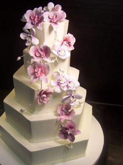 Wedding Cakes Ma  Dessert Works Wedding Cake Westwood MA WeddingWire