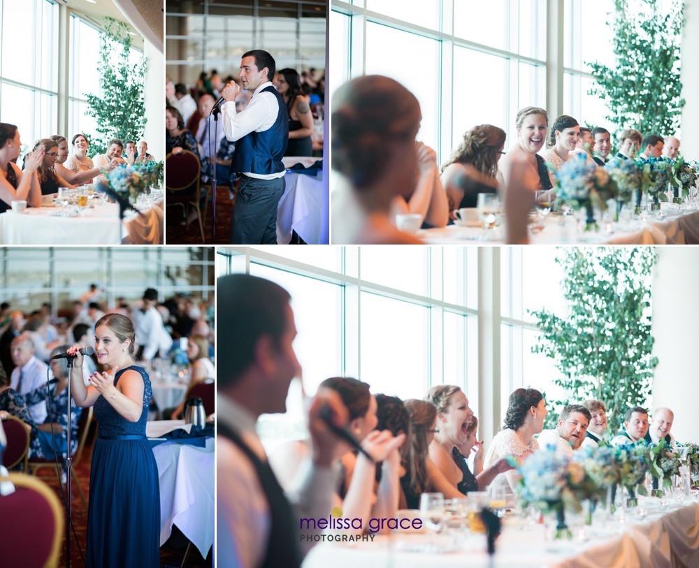 Wedding Cakes Madison Wi  Mike and Charise A Lake Monona Wedding Madison WI