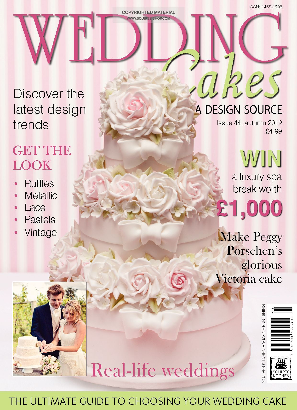 Wedding Cakes Magazine  Wedding Cakes Magazine Autumn 2012