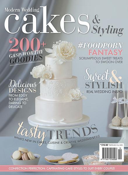 Wedding Cakes Magazine  Modern Wedding Cakes & Styling Vol 19 – Modern Wedding