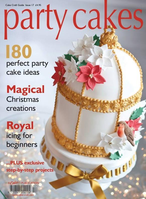 Wedding Cakes Magazine  Food & Favor Party Cakes Magazine Cover Weddbook