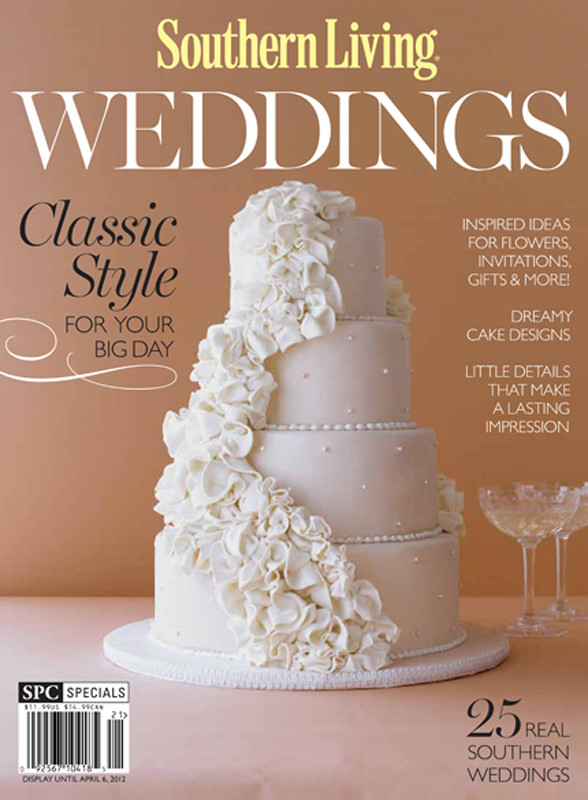 Wedding Cakes Magazine  Southern Living Weddings & GiveawayTruly Engaging Wedding Blog