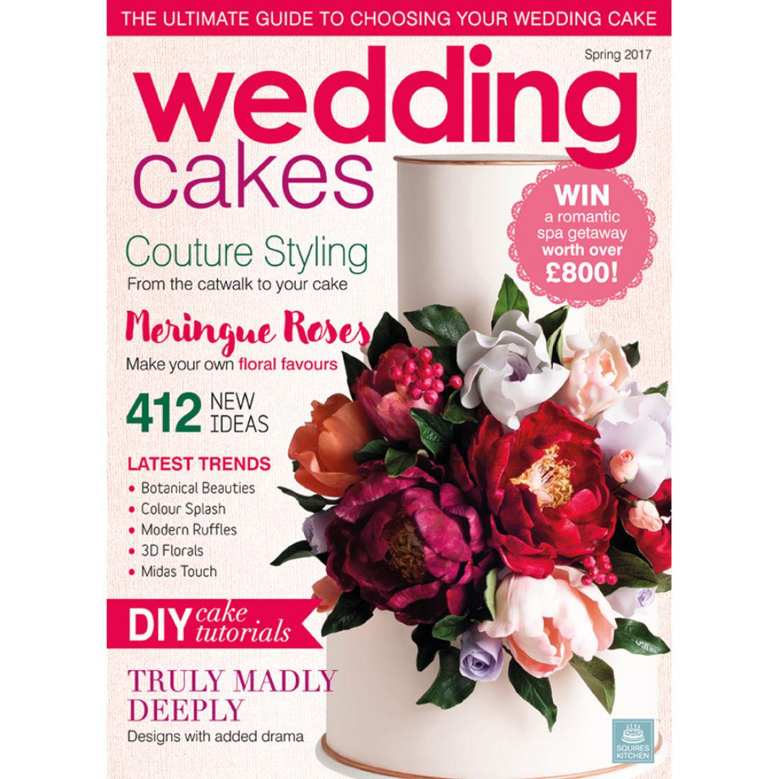 Wedding Cakes Magazine  Wedding Cakes Magazine Spring 2017