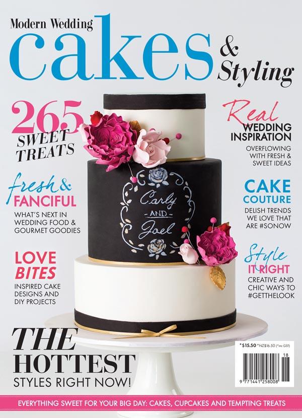 Wedding Cakes Magazines  New Modern Wedding Cakes Magazine Sale