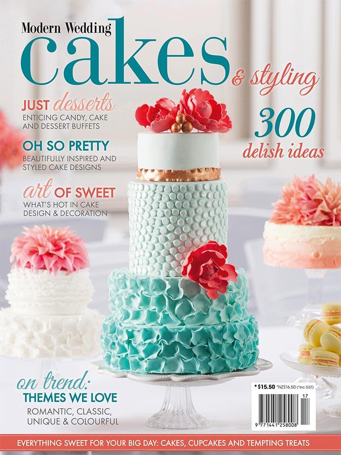 Wedding Cakes Magazines  NEW Modern Wedding Cakes & Styling Magazine Sale