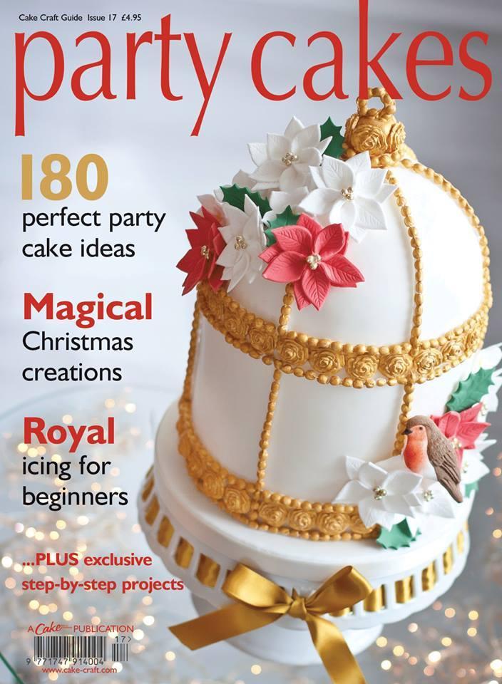 Wedding Cakes Magazines  Food & Favor Party Cakes Magazine Cover Weddbook