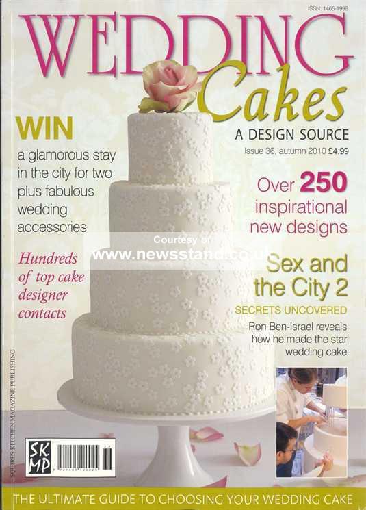 Wedding Cakes Magazines  Wedding cake magazine uk idea in 2017