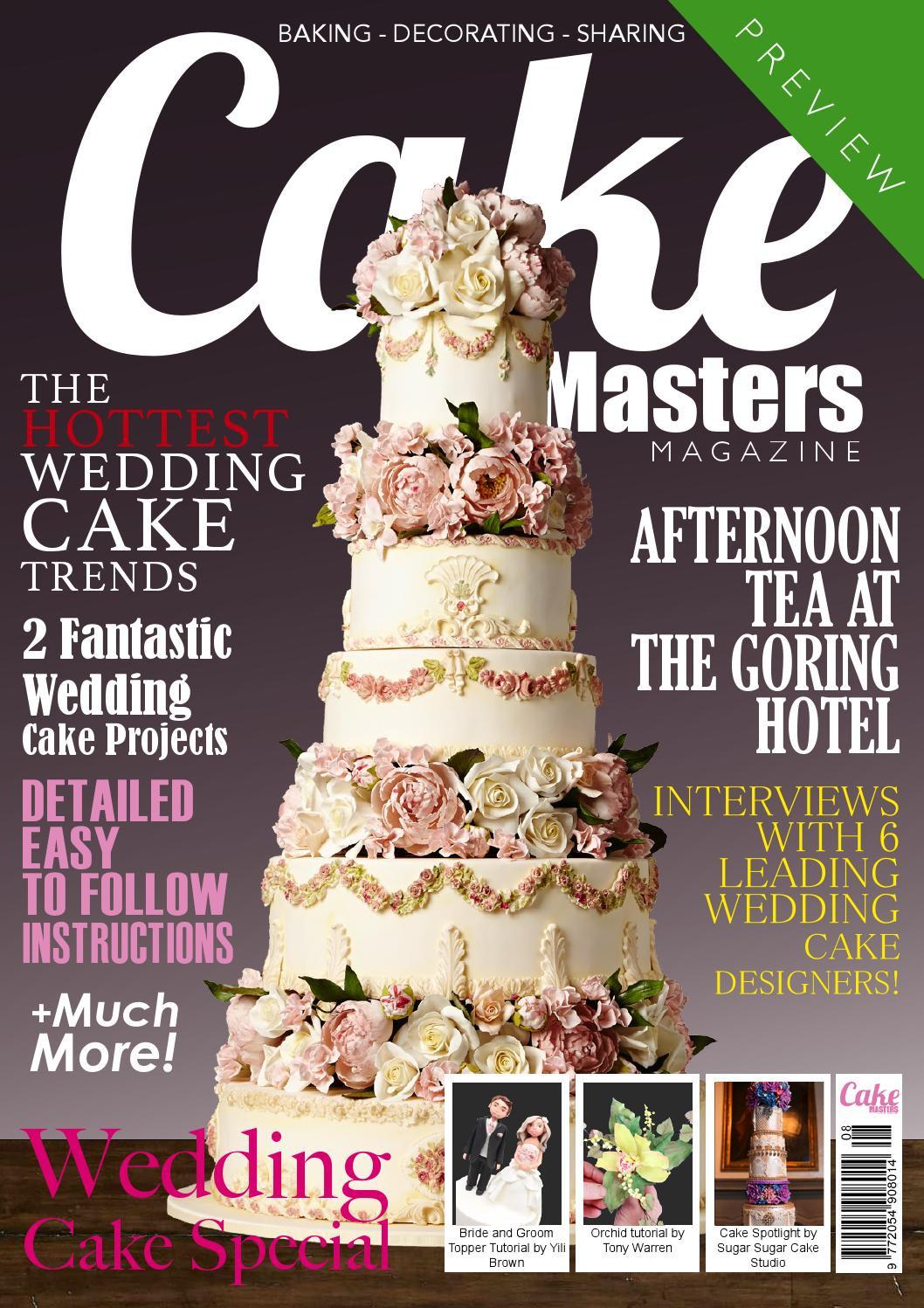 Wedding Cakes Magazines  Cake Masters Magazine August 2014 by Cake Masters Issuu
