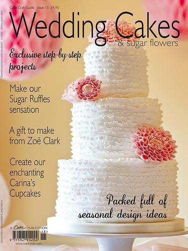 Wedding Cakes Magazines  Food & Favor Wedding Cakes & Sugar Flowers Magazine