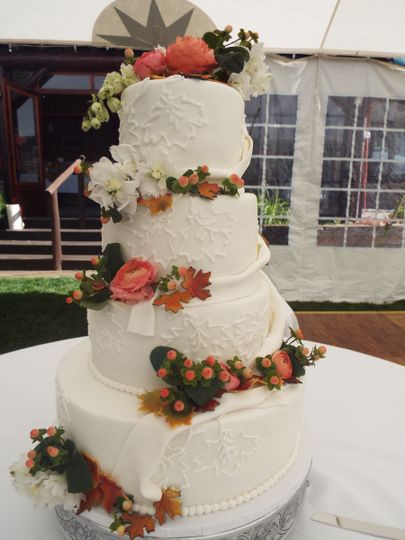Wedding Cakes Maine  A Beautiful Maine Wedding Cake All Occasion Cakes