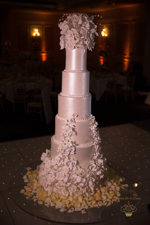 Wedding Cakes Maker  Decadent Sugar Flower Bespoke Wedding Cake