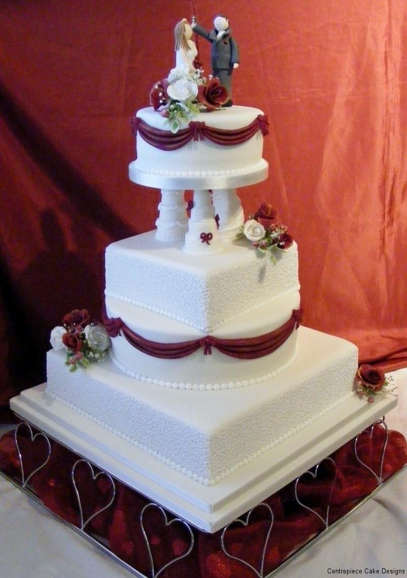 Wedding Cakes Maker  Classic Style Wedding Cakes Wedding Cake Maker IOW