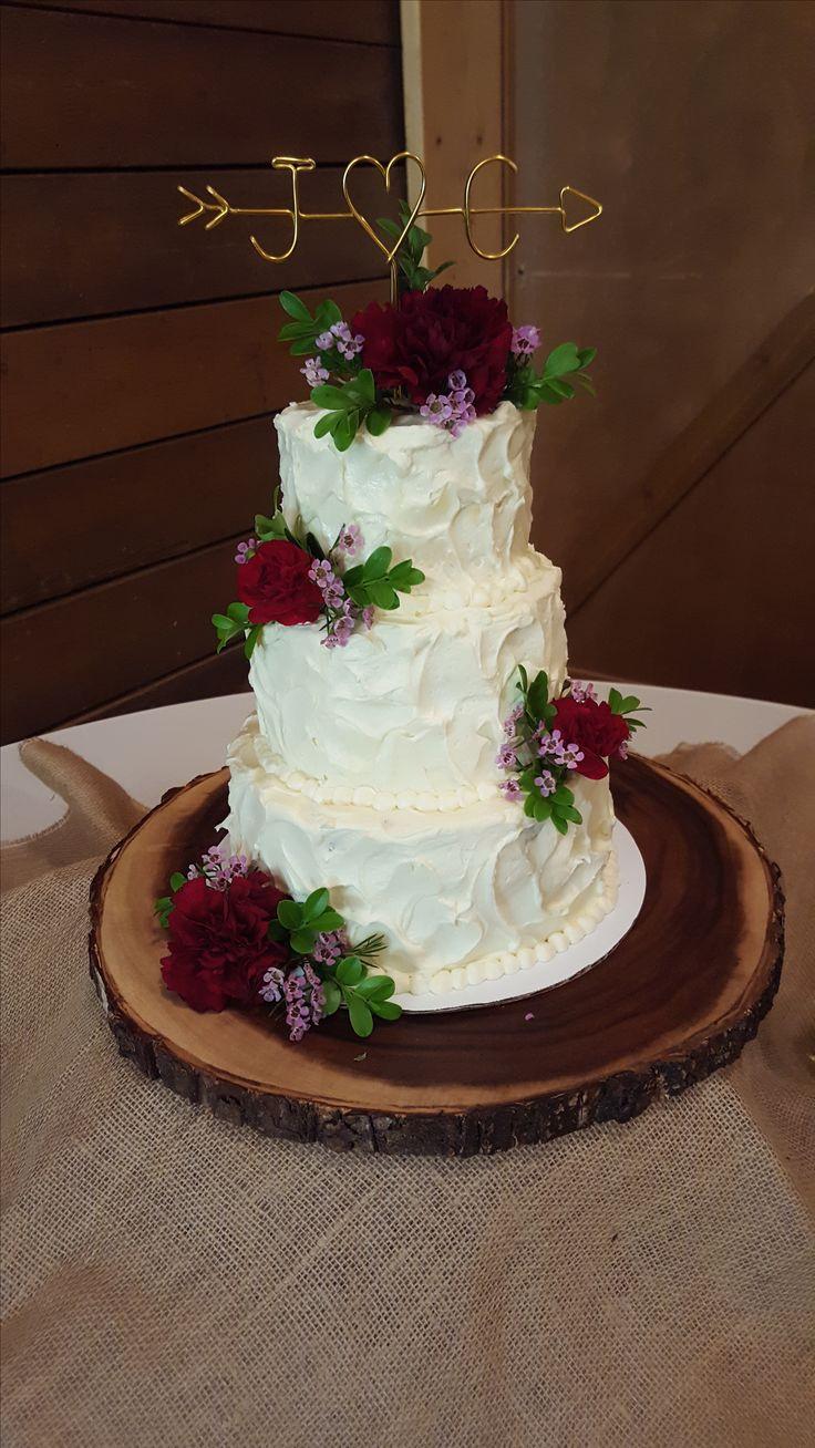 Wedding Cakes Manhattan Ks  34 best PORTFOLIO Cake flowers images on Pinterest