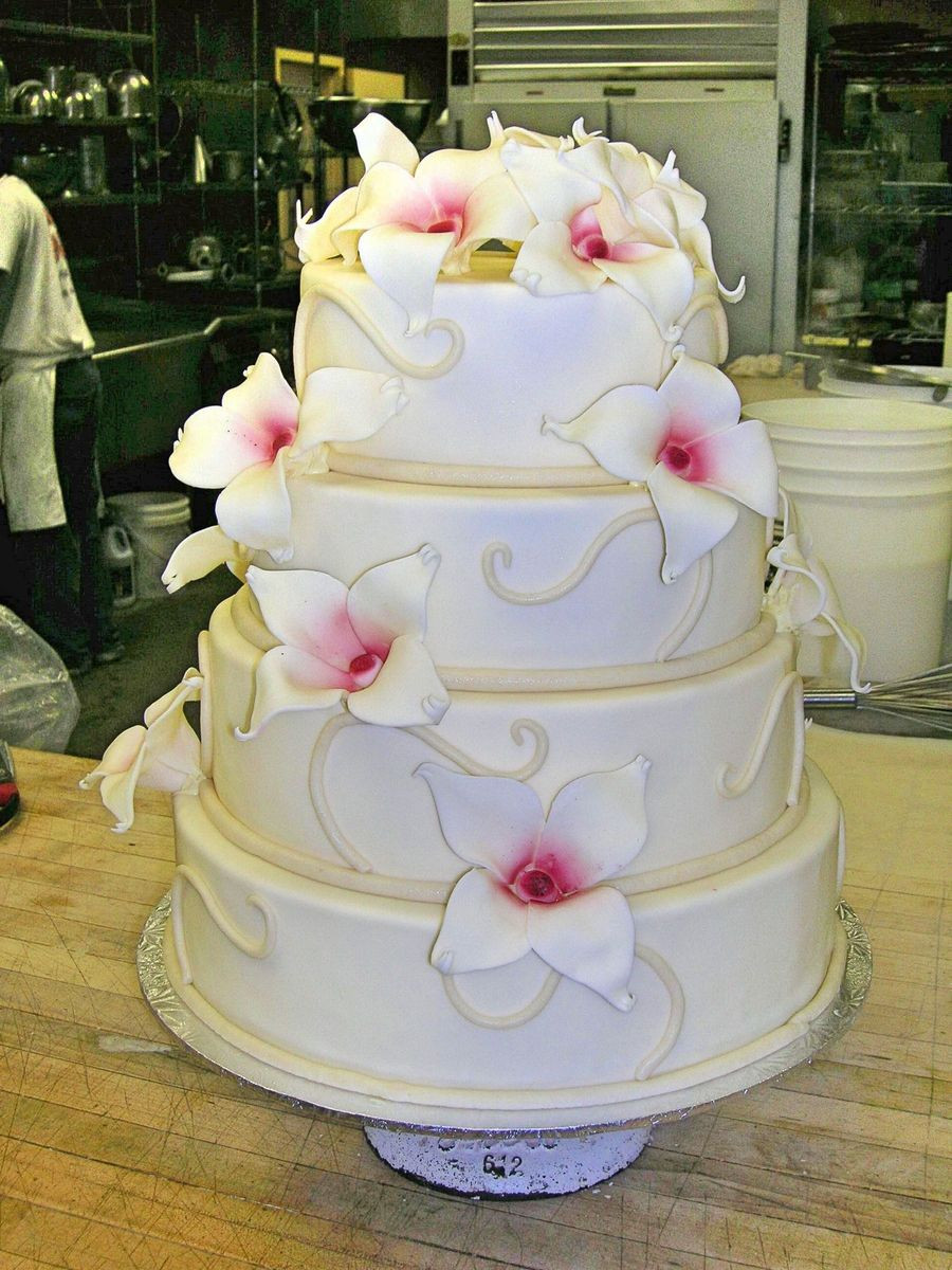 Wedding Cakes Maryland  Patisserie Poupon Wedding Cake Baltimore MD WeddingWire