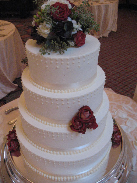 Wedding Cakes Maryland  Custom Made Wedding Cakes MD DC VA