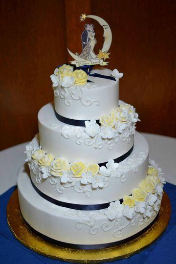 Wedding Cakes Massachusetts  Royal Icings Wedding Cake Westfield MA WeddingWire